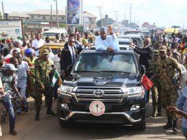 Bukola welcome to Kwara state capital, Ilorin